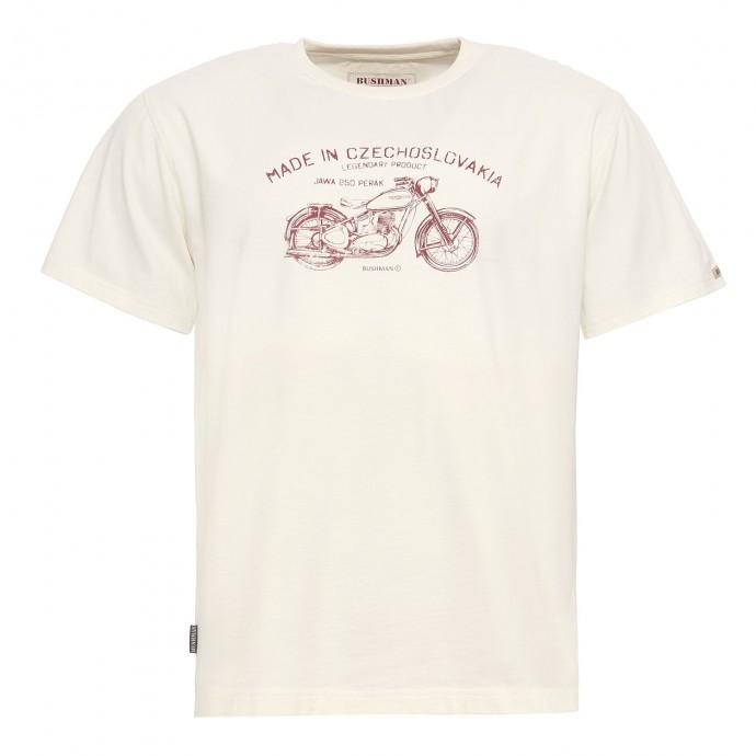 Levně Bushman tričko Bobstock cream XXXXL
