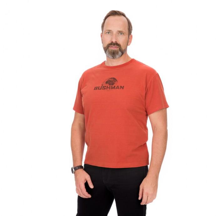 Bushman tričko Groton terracotta XXL