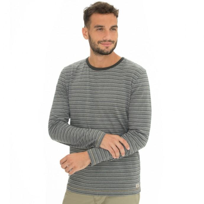 Levně Bushman tričko Frankfort grey M