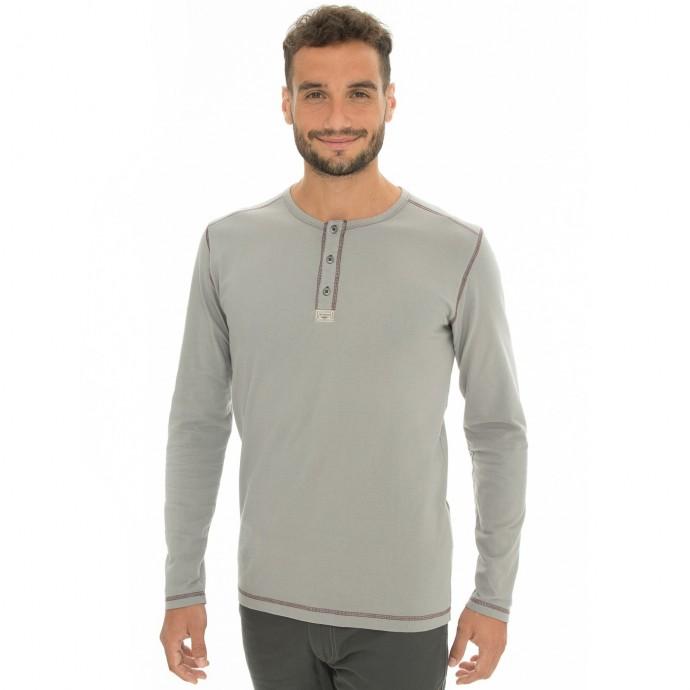 Levně Bushman tričko Kramer II light grey XXL