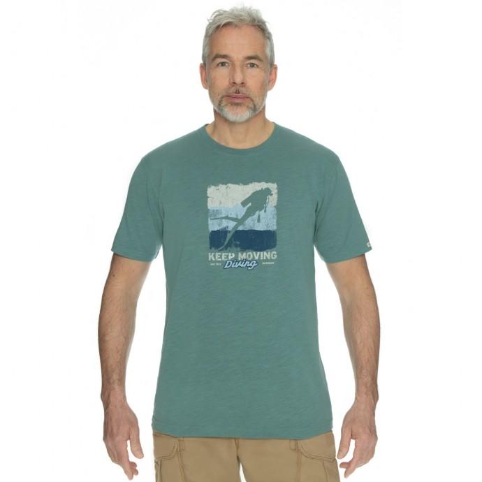 Levně Bushman tričko Exponent blue L