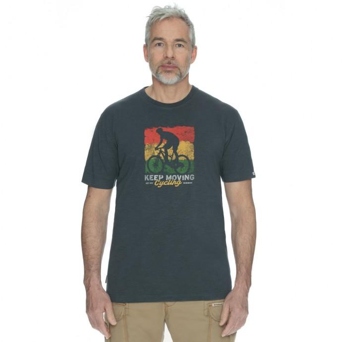 Bushman tričko Exponent dark grey L