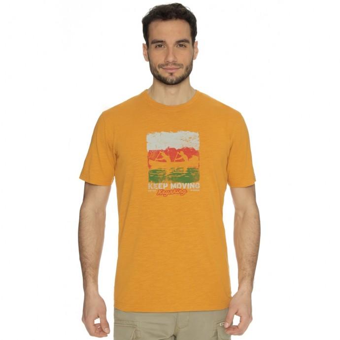 Bushman tričko Exponent yellow XL