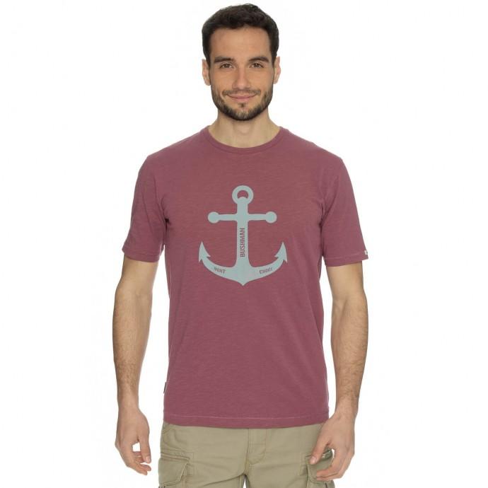 Bushman tričko Symbol burgundy L