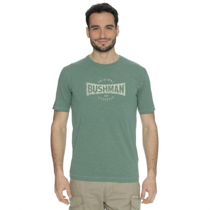 Bushman tričko Symbol light olive S