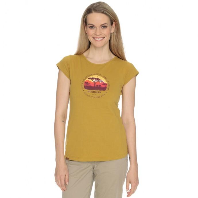 Levně Bushman tričko Natalie III yellow M