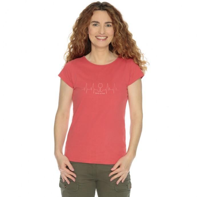Levně Bushman tričko Natalie III red XXL